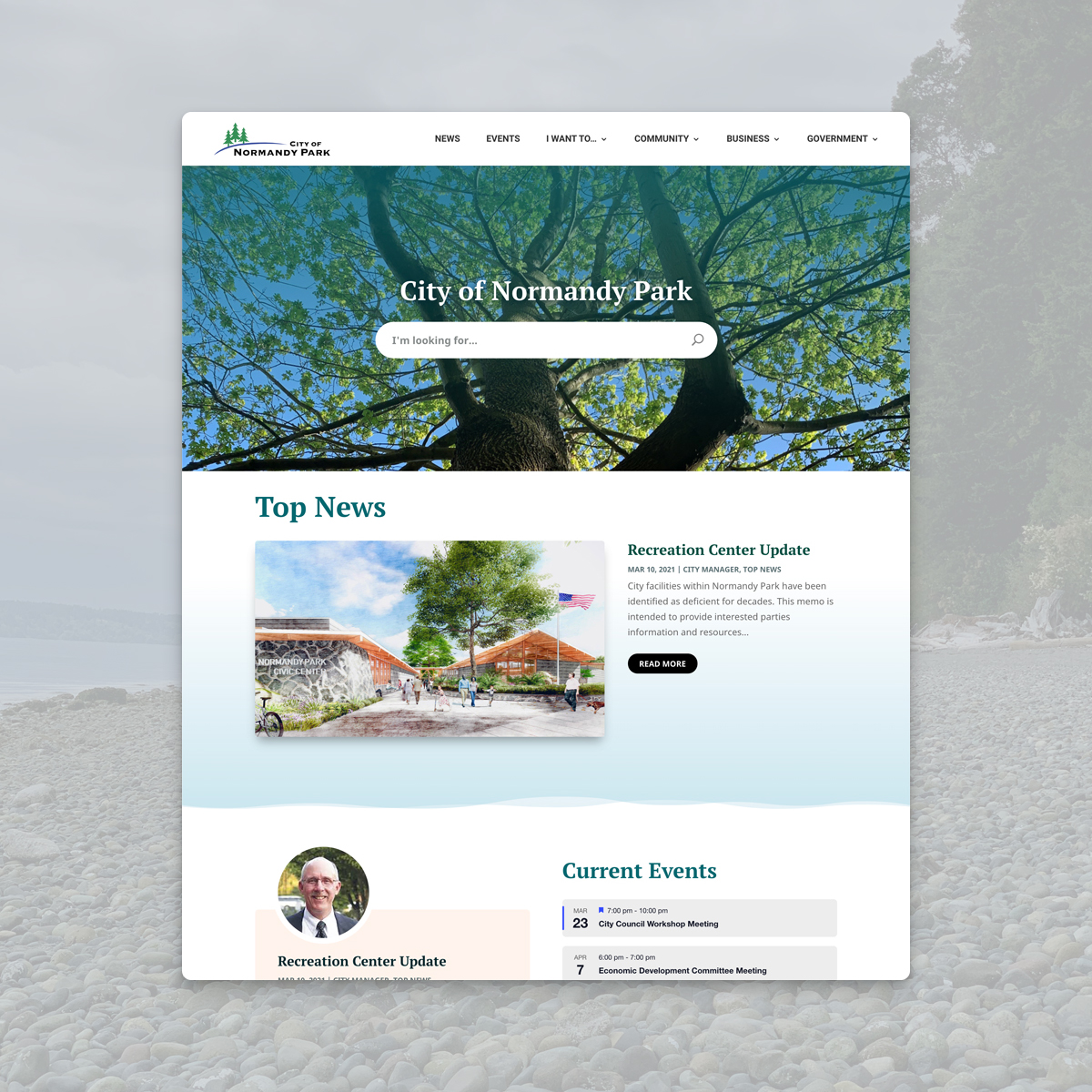Normandy Park website